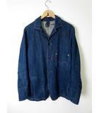 リーバイスレッド Levi's RED カバーオール ジャケット デニム ジージャン Gジャン M インディゴブルー 紺 ネイビー WPL-423