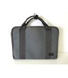 ポーター PORTER バッグ ブリーフケース ビジネスバッグ キャンバス レザー グレー 通勤 かばん 鞄