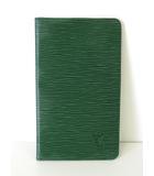 ルイヴィトン LOUIS VUITTON 財布 長財布  エピ レザー緑 ボルネオグリーン 二つ折り 札入れ M63734  ポルト シェキエ カルト クレディ