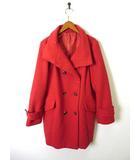 ジーユー GU コート ピーコート Pコート ウール 長袖 XL 赤