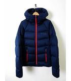 コロンビア Columbia ダウン ダウンジャケット OMNI-HEAT オムニヒート S 紺 ネイビー 赤 国内正規品