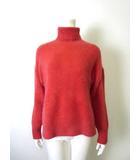 マーキュリーデュオ MERCURYDUO ニット セーター タートル ふわふわ 長袖 赤