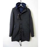 ESEMPLARE エゼンプラーレ ニット コート ジャケット インナーダウン ベスト S チャコールグレー 紺 ネイビー 国内正規品