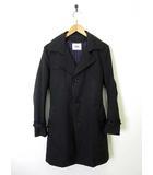 タケオキクチ TAKEO KIKUCHI コート トレンチコート 中綿 ライナー 長袖 2 M 黒 ブラック