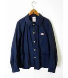 ダントン DANTON ジャケット カバーオール ブルゾン 38 紺 ネイビー 国内正規品