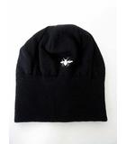 ディオールオム Dior HOMME ニットキャップ ニット帽 ビーニー ワッチキャップ Bee ロゴ 刺繍 F 黒 ブラック 国内正規品