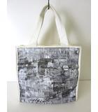 アンテプリマ ANTEPRIMA バッグ トートバッグ ホログラム ロゴ キャンバス 白 黒 グレー かばん 鞄 カバン