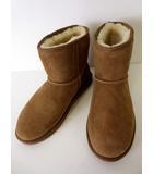 エミュー emu Australia ブーツ シープスキン ムートンブーツ ショート STINGER MINI 26.5 キャメルブラウン 茶色 くつ 靴 シューズ