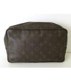 ルイヴィトン LOUIS VUITTON セカンドバッグ クラッチバッグ 化粧ポーチ 小物入れ モノグラム トゥルーストワレット28 M47522 ブラウン 茶 かばん 鞄