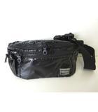 ポーター PORTER バッグ ボディバッグ ウエストバッグ ナイロン ロゴ 黒 ブラック かばん 鞄 カバン