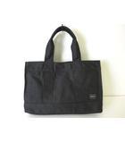 ポーター PORTER バッグ トートバッグ ハンドバッグ キャンバス ロゴ 黒 ブラック かばん 鞄 カバン
