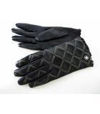 クレイサス CLATHAS 手袋 グローブ 本革 ソフト レザー キルティング ステッチ カメリア 黒 ブラック