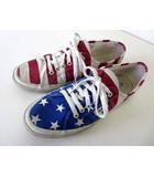 スペルガ SUPERGA スニーカー シューズ キャンバス 星条旗 27.0 赤 白 ホワイト 青 USA アメリカ国旗 くつ 靴