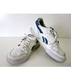 リーボック Reebok スニーカー ランニングシューズ 靴 レザー 24.0 白 ホワイト グリーン くつ 靴 シューズ