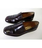 サルヴァトーレフェラガモ Salvatore Ferragamo ローファー ビジネスシューズ 革靴 スリッポン 本革 レザー 8 EEE ダークブラウン こげ茶色 幅広 紳士 ビジネス 通勤 くつ 靴 シューズ
