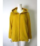 リップスター LIPSTAR コート ジャケット フード ウール ジップアップ 長袖 2 M マスタード