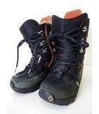 バートン BURTON スノーボード ブーツ スノボブーツ 25.0 黒 ブラック オレンジ くつ 靴 シューズ