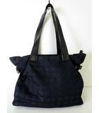 シャネル CHANEL バッグ ショルダーバッグ トートバッグ ニュートラベルライン GM 黒 ブラック ナイロンキャンバス かばん 鞄 カバン