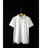 ポロ ラルフローレン POLO RALPH LAUREN ポロシャツ ポニー刺繍 ドライ 半袖 120 白 国内正規品 男の子