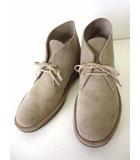 クラークス clarks ORIGINALS オリジナルズ ブーツ デザートブーツ チャッカブーツ 本革 スエード レザー 7.5 ベージュ サンド 25.5cm くつ 靴 シューズ