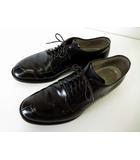 オールデン ALDEN シューズ ドレスシューズ Vチップ コードバン ユナイテッドアローズ 別注 レザー 革靴 8 D 黒 ブラック 5433 モディファイドラスト くつ 靴