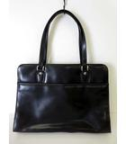 LE MUES ビジネスバッグ ブリーフケース 書類 鞄 かばん ショルダーバッグ レザー 黒 ブラック 就活 ビジネス 通勤