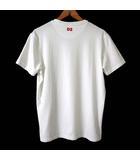 ディースクエアード DSQUARED2 アンダーウェア Tシャツ カットソー 半袖 ロゴ 刺繍 ストレッチ XS 白 ホワイト 赤