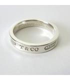 ティファニー TIFFANY & CO. 指輪 リング 1837 ナロー シルバー SV925 14号 AG925 アクセサリー SILVER 箱付
