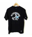 ネイバーフッド NEIGHBORHOOD ステューシー STUSSY Tシャツ カットソー 半袖 15周年記念 コラボ M 2 黒 ブラック レア 希少 限定