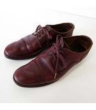 アーツ&サイエンス ARTS & SCIENCE ARTS&SCIENCE シューズ 革靴 くつ 靴 おじ靴 本革 レザー キャップトゥ 23.0 バーガンディ 赤茶色