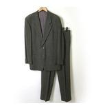 アルマーニ コレツィオーニ ARMANI COLLEZIONI スーツ シングル ウール 2ボタン ジャケット パンツ L グレー