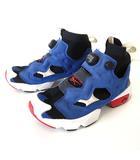 リーボック Reebok ポンプフューリー insta pump スニーカー シューズ ガンダム ウルトラニット ハイカット 24.5 青 ブルー 赤 白 黒 ブラック くつ 靴 シューズ 119037031