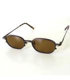 ゴールデンベア GOLDEN BEAR サングラス メガネ マグネット式 ブラウン レンズ メタル フレーム 茶 眼鏡 めがね