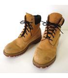 ティンバーランド Timberland ブーツ ワークブック 本革 ヌバック スエード レザー 9 キャメル イエロー 27.0cm くつ 靴 シューズ