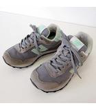 ニューバランス NEW BALANCE WL515COJ スニーカー シューズ 23.0 グレー ミント くつ 靴