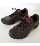 リーボック Reebok イージートーン SIMPLY TONE スニーカー シューズ レザー 24.5 ダークブラウン こげ茶色 くつ 靴 シューズ