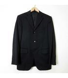 タケオキクチ TAKEO KIKUCHI ジャケット テーラードジャケット ブレザー ウール S 黒 ブラック