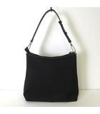 ギラロッシュ Guy Laroche バッグ ワンショルダーバッグ ナイロン レザー ロゴ 黒 ブラック シルバー金具 かばん 鞄 カバン 美品