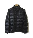 モンベル Montbell ダウンジャケット スペリオ ダウン ロゴ 刺繍 ジップアップ 長袖 1101466 ライトダウン 軽量 S 黒 ブラック 国内正規品
