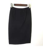 ルシェルブルー LE CIEL BLEU スカート ニット ペンシル M 黒 ブラック 美品