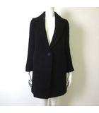 プロポーション ボディドレッシング PROPORTION BODY DRESSING BLANCHIC コート チェスターコート ブークレー ウール 長袖 3 M 黒 ブラック