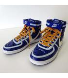 ナイキ NIKE バンダルハイ VANDAL HIGH スニーカー シューズ ハイカット ナイロン 24.0cm ロイヤルブルー 青 くつ 靴