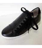 コントワーデコトニエ COMPTOIR DES COTONNIERS Slash スニーカー シューズ レザー 38 黒 ブラック 24.0cm くつ 靴 サイドシューレース