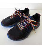 アシックス asics GEL-VENTURE 7 ゲルベンチャー スニーカー ランニングシューズ ウォーキング 26.0cm 黒 ブラック グレー 青 くつ 靴 シューズ