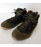 ナイキ NIKE ジョーダン メロ JORDAN MELO M9 スニーカー シューズ 28.5cm カーキ 黒 ブラック US 10.5 くつ 靴 シューズ