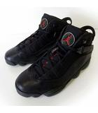 ナイキ NIKE エアジョーダン 6 リングス AIR JORDAN 6 RINGS スニーカー シューズ 27.0cm 黒 ブラック ダークカーキ US 9 くつ 靴 美品