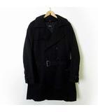 コムサイズム COMME CA ISM コート トレンチコート コットン 中綿 ライナー XL 黒 ブラック