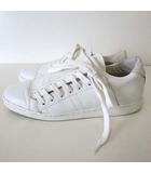コントワーデコトニエ COMPTOIR DES COTONNIERS Slash スニーカー シューズ レザー 38 白 ホワイト 24.0cm くつ 靴 サイドシューレース