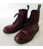 1460 ブーツ 8ホールブーツ 本革 レザー UK 5 チェリーレッド 赤茶色 24.0cm くつ 靴 シューズ