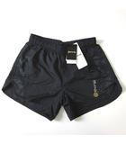 スキンズ SKINS ショートパンツ ランニングパンツ ロゴ 迷彩 カモフラ 切り替え SRF6502P ナイロン M 黒 ブラック 国内正規品 タグ付 美品